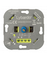 Lybardo ITEC 5-150W LED dimmer - Fase Afsnijding - Universeel - Inbouw