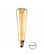 E27 LED Vintage Kooldraad lamp Verona Gold 3.5W 1800K Extra Warm Dimbaar
