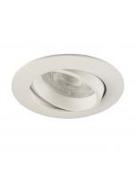 Inbouwspot LED - Inbouw armatuur Costa - Kantelbaar - Rond wit