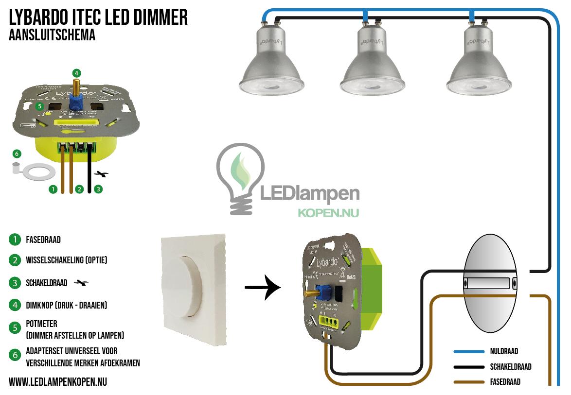 Lybardo-ITEC-LED-Dimmer-aansluitschema