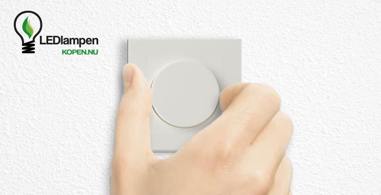 LED verlichting dimmen met een draai aan de knop