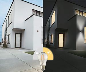 LED sensor lampen buiten